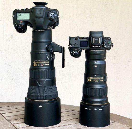 ニコンの「AF-S NIKKOR 500mm f/5.6E PF ED VR」がディスコンになっている!?