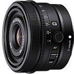 ソニー「FE 50mm F2.5 G」「FE 40mm F2.5 G」「FE 24mm F2.8 G」の製品画像。
