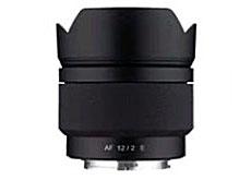 サムヤンのAPS-C用天体撮影向けレンズ「AF 12mm F2.0 E」
