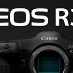 キヤノンが「EOS R3」を正式開発発表。AF/AE追従30コマ/秒連写、視線入力AF搭載の模様。