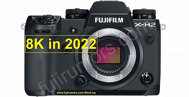 富士フイルム「X-H2」は2022年に登場し8K DCI/UHDに対応する!?