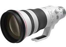 キヤノン「RF100mm F2.8 L MACRO IS USM」「RF400mm F2.8 L IS USM」「RF600mm F4 L IS USM」のスペック情報。