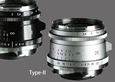 フォクトレンダー「ULTRON Vintage Line 28mm F2 Aspherical Type I VM」と「ULTRON Vintage Line 28mm F2 Aspherical Type II VM」