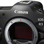 キヤノン「EOS R3」の斜め前面、背面のリーク画像が登場。
