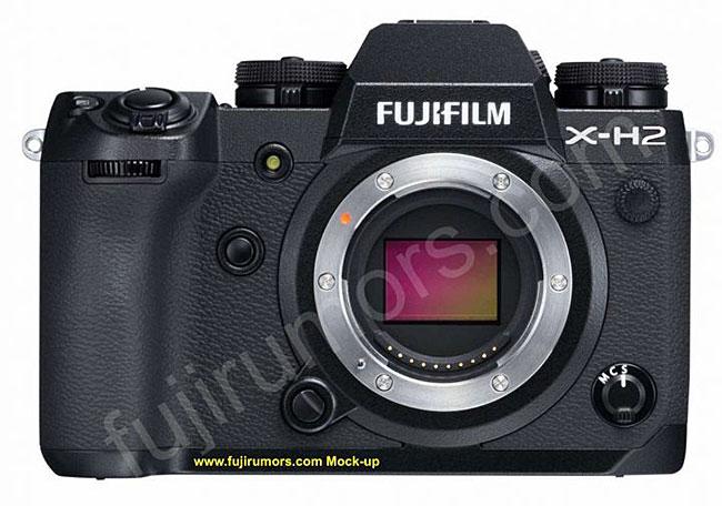 富士フイルム「X-H2」には、新しいセンサーと画像処理エンジンが搭載される!?
