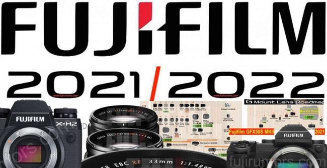富士フイルムの2021/2022のXシリーズとGFXシリーズの新製品の噂。