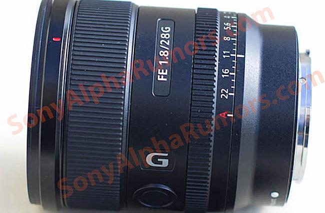 ソニー「FE 28mm F1.8 G」