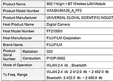 富士フイルムが海外認証機関に登録している「FF210001」は、やはり中判ミラーレスの模様。サイズはGFX100Sとほぼ同じ!?発表は2021年8月27日か!?