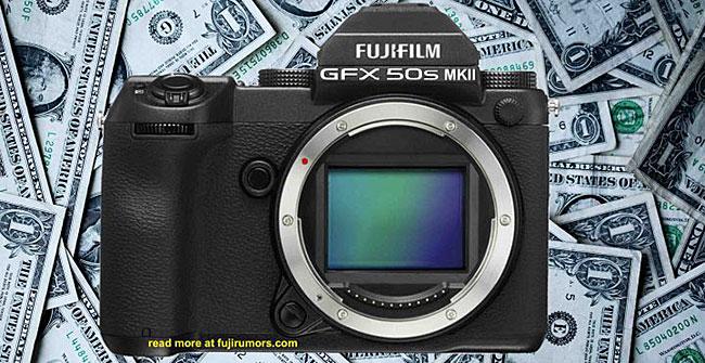 富士フイルム「GFX 50S MKII」は、GFXシリーズ中で最も低価格になる!?