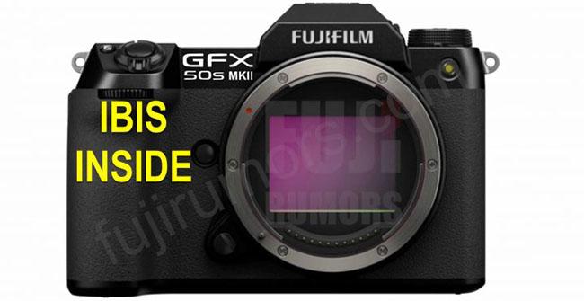 富士フイルム「GFX 50S MKII」には、ボディ内手ブレ補正が搭載される!?