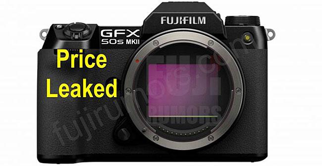 富士フイルム「GFX 50S MKII」の価格は3,999ドル!?
