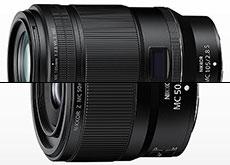 ニコンがZマウント用マイクロレンズ「NIKKOR Z MC 105mm f/2.8 VR S」「NIKKOR Z MC 50mm f/2.8」を正式発表。