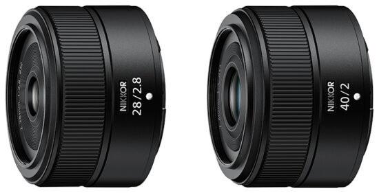 ニコンのクラシカルデザインのAPS-Cミラーレス機「Z fc」と一緒に「NIKKOR Z 28mm f/2.8」「NIKKOR Z 40mm f/2」が正式発表される!?