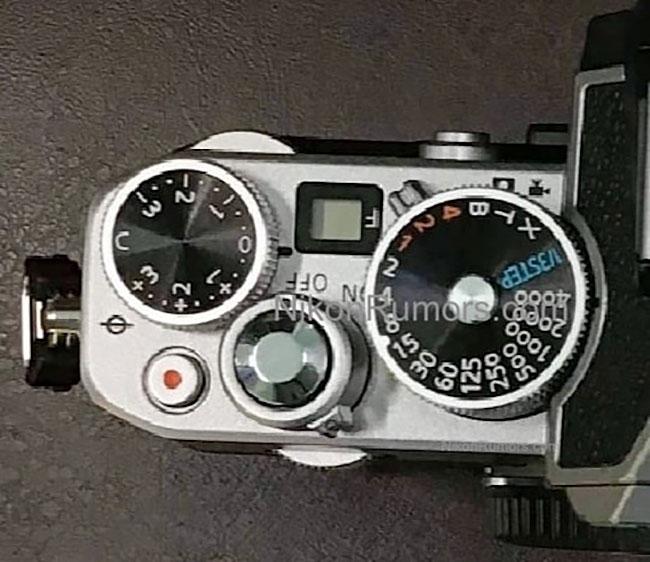 ニコンのクラシカルデザインのAPS-Cミラーレス機のリーク画像!?