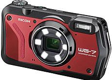 リコーのタフネスカメラ「WG-7」