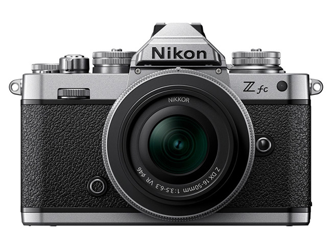 ニコンのフィルム一眼レフ「FM2」風デザインのAPS-Cミラーレス「Z fc」