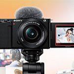 ソニーがVlog撮影向けEマウントAPS-C機VLOGCAM「ZV-E10」を正式発表。