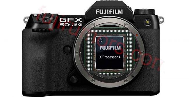富士フイルム「GFX50S II」は、画像処理エンジンに「X-Processor 4」を搭載する!?