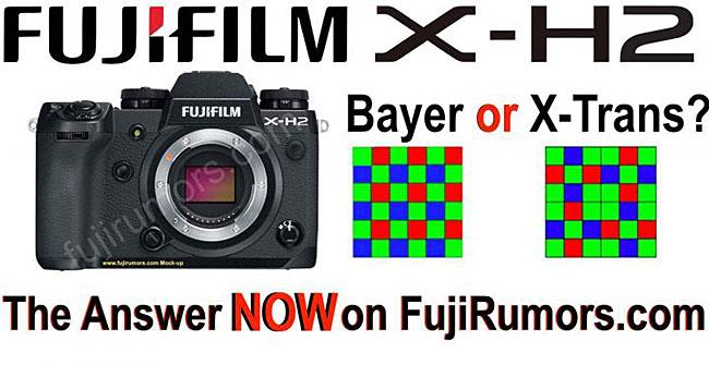 富士フイルム「X-H2」は、新しいX-Transセンサーと画像処理エンジンを積んだ最初のXシリーズになる!?