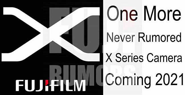 富士フイルムから2021年中に新しいXシリーズが1機種登場する!?今までに噂されたことが無いカメラが登場!?