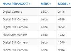 ライカが海外認証機関に未発表カメラ「2416」を登録した模様。