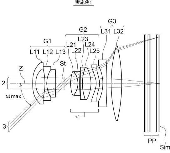 富士フイルム「GF30mmF4.5」と「GF30mmF4」の特許