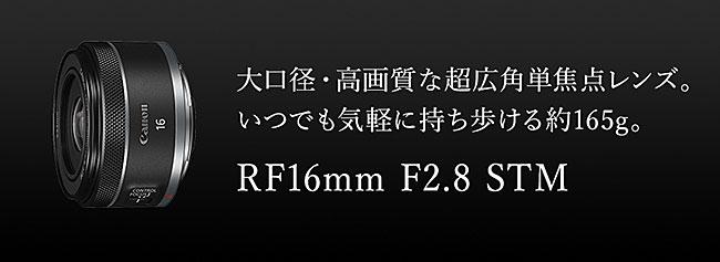 RF16mm F2.8 STM