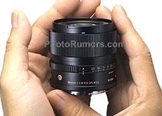 シグマのIシリーズの新レンズ「90mm F2.8 DG DN | Contemporary」と「24mm F2 DG DN | Contemporary」のリーク画像。