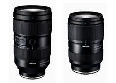 タムロンがフルサイズEマウント用レンズ「28-75mm F/2.8 Di III VXD G2」(Model A063)と「35-150mm F/2-2.8 Di III VXD」(Model A058)を正式発表。