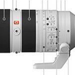 ソニーの「FE 70-200mm F2.8 GM OSS II」のリーク画像。やはり絞りリングが搭載される模様。