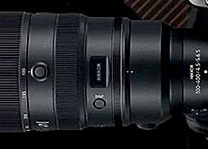 ニコン「NIKKOR Z 100-400 mm f/4.5-5.6 VR S」