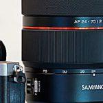 SAMYANG初のAF対応ズームレンズのフルサイズEマウント用レンズ「AF 24-70mm F2.8 FE」が登場する模様。